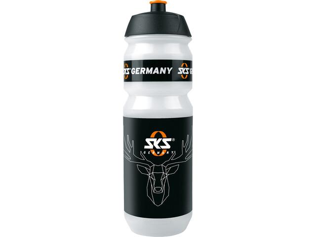 SKS Trinkflasche Hirsch 750ml weiß/schwarz